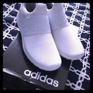 (New) white adidas Lite Racer Adapt